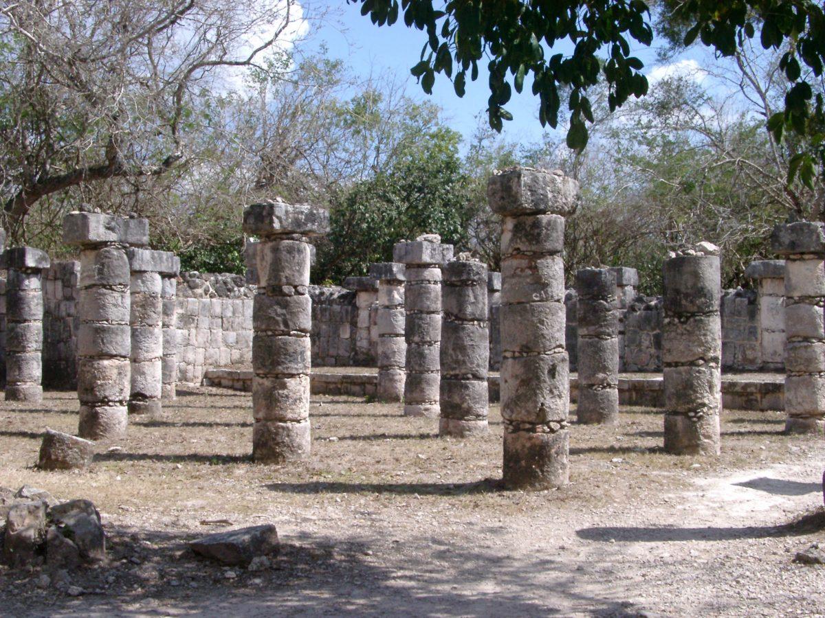 Chitzen Itza Mayan ruins